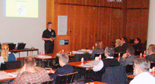 photo of a QFDI lecture at 2007 German QFD Symposium