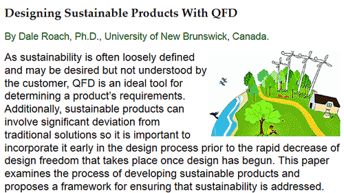 thesis on qfd