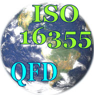 Using AHP In QFD - The Impact of the New ISO 16355 Standard