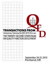 image of QFD symposium transactions